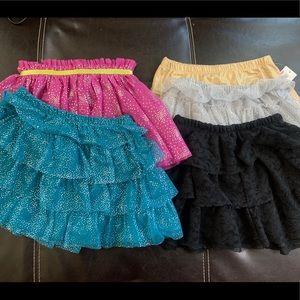 3T/4T Summer Girls Skirt Lot